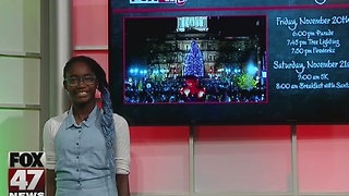Around Town Kids 11/18/16: Silver Bells in the City - Video