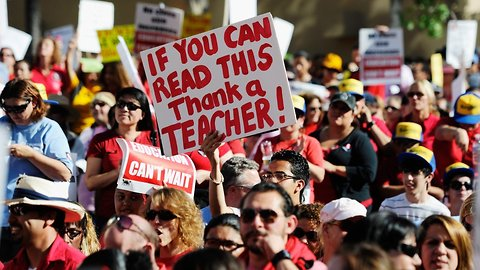 Report Finds Nearly 1 In 5 Full-Time Teachers Works A Second Job