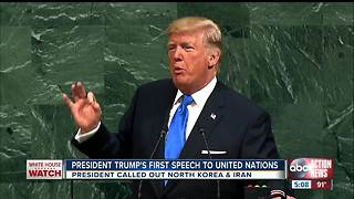 President Trump threatens 'total destruction' of North Korea during U.N. General Assembly speech - Video