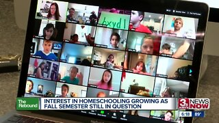 Interest in Homeschooling Growing as Fall Semester Still in Question
