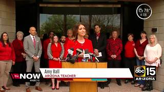 Teachers pushing for more pay across the Valley - Video