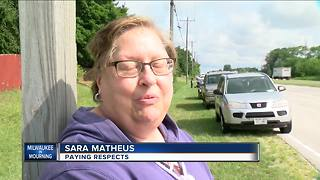Community pays respects to fallen MPD officer - Video