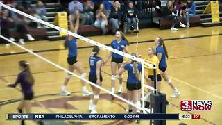 State VB: Wahoo vs. Minden - Video
