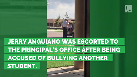 Teen Picked Up by School Security & Brought to Office. Then Principal Brings Him Inside