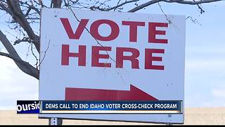 Idaho Democrats call to pull state from Interstate Voter Registration Crosscheck Program - Video