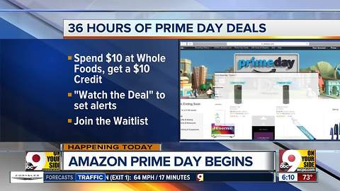 Amazon Prime Day deals start today