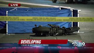 Fatal motorcycle crash closes Silverlake Rd. from Santa Cruz River to Mission Rd. - Video
