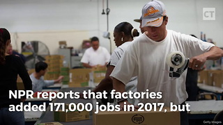 Obama Lost 16k Jobs; Trump Gained 171k Jobs - Video