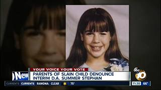 Family of Stephanie Crowe denounces Summer Stephan's DA bid