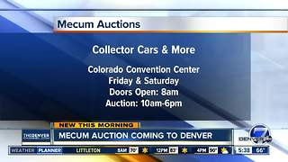 Mecum Auction coming to Denver - Video