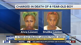 Missing 4-year-old Malachi Lawson found dead; mother and partner charged