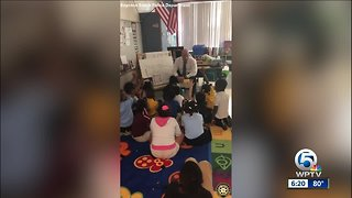 Boynton Beach Police encourage students - Video