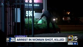 Glendale woman arrested in deadly shooting - Video