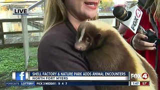 "Shell Factory and Nature Park adds ""Close Encounters"" Attraction"