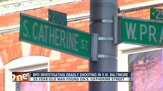 Man fatally shot in SW Baltimore Saturday evening - Video