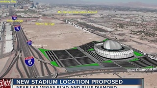 New possible Las Vegas stadium location suggested - Video