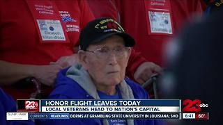 Veterans take off for the latest Honor Flight - Video