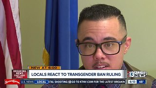 Local fallout on transgender ban