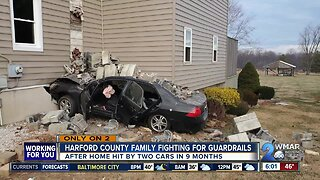 Harford County family fighting for guardrails