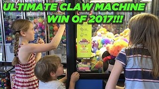 Ultimate Claw Machine Win - Video