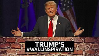 The inspirations behind Trump's 'great, great' wall - Video