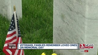 Veterans, families remember loved ones on Memorial Day
