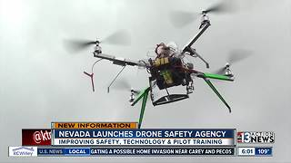 Nevada launches new center to improve drone safety - Video