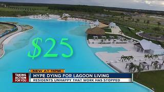 Pasco residents clash over Crystal Lagoon fees - Video