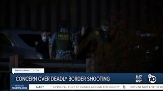 Concern over deadly border shooting