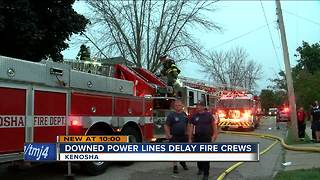 Fire destroys two Kenosha homes - Video