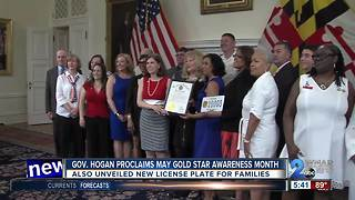 Governor Hogan honors Gold Star families in Annapolis - Video