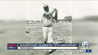 Dodgertown holds celebration for Jackie Robinson Day - Video