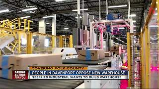 Davenport residents fight against development of 1.5 million square foot warehouse - Video