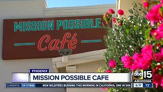 Phoenix cafe giving second chance to people with drug, trauma issues - Video