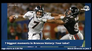 The 7 biggest moments in Denver Broncos history