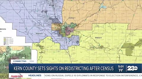 23ABC IN-DEPTH: Kern County sets sights on redistricting after census