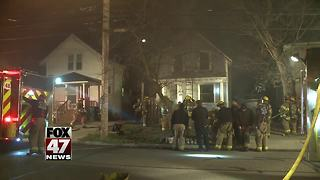 Fire breaks out at home in Lansing