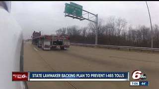 Indiana senator wants to block tolling on I-465