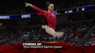 Gymnast Maggie Nichols says she was first to report Nassar abuse to USAG - Video