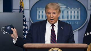 President Trump's Post Downplaying COVID Removed By Facebook