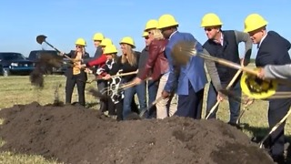 County leaders break ground on water quality project - Video