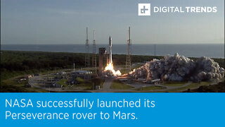 NASA successfully launched its Perseverance rover to Mars.