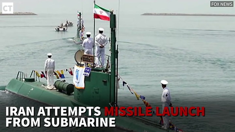 Iran Attempts Missile Launch from Submarine