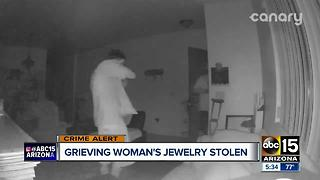Grieving Phoenix woman searching for answers after home robbed - Video