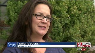 Omaha woman describes seeing armed robbers - Video