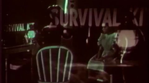 Nuclear explosion 'civil defense' training video from the late 1950s