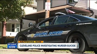 Police investigating possible murder-suicide on Cleveland's West Side - Video