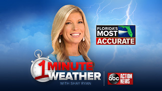 Florida's Most Accurate Forecast with Shay Ryan on Monday, October 9, 2017 - Video