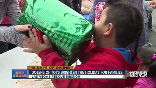 13 Days of Giving toy giveaway - Video