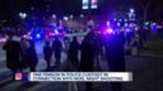 One person in custody after 4 teens shot at Noel Night in Detroit - Video